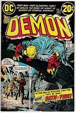 Demon #2 VF 8.0 Jack Kirby Art!
