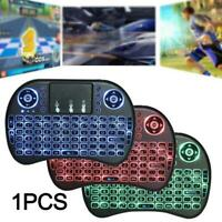 Mini Wireless Keyboard for Smart TV Android Box PC i8 2.4GHz with Touchpad
