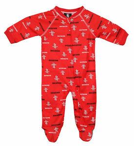 NBA Baby Sleepwear All Over Print Zip Up Coverall Blanket Sleeper