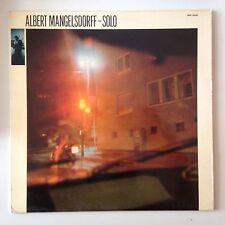 DISQUE 33T ALBERT MANGELSDORFF SOLO