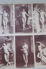 CALAVAS ETUDE DE NUS  TIRAGE ALBUMINE ALBUMEN VINTAGE PRINT 1880 PEINTURE ref2