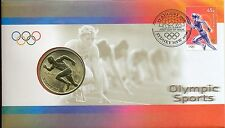 Coin Australia $5 Olympic Games Athletics PNC 2000 official post office cover