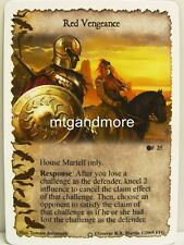 A Game of Thrones LCG - 1x Red Vengeance #025 - Ice and Fire Draft Pack