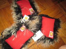 NWT Joy & Jake Mini Fur Accent Pillow