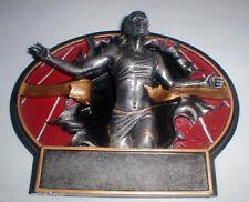 "Women's Girl's Track Running Sprint 3-D ""Burst-Thru"" Plaque Award"