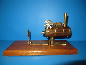 Schiffs Dampfmaschine Messing  #D26
