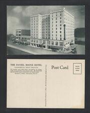 1950s THE DANIEL BOONE HOTEL CHARLESTON W VA POSTCARD