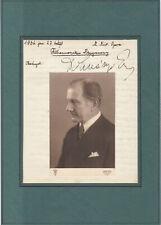 Conductor-Composer: Ernst de Dohnanyi original signed en Budapest 1936