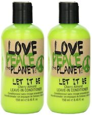 LOVE PEACE & THE PLANET LET IT BE CHERRY ALMOND LEAVE IN CONDITIONER 8.45 - 2 pc