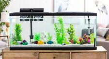 55 Gallon Fish Tank Big LED Sunlight Aquarium Starter Kit Large Filter Glass Pet
