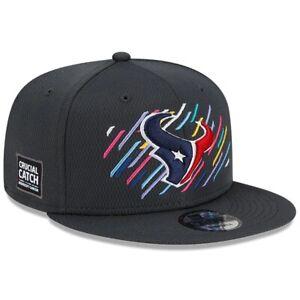 2021 Houston Texans New Era 9FIFTY Crucial Catch Snapback Sideline Hat Cap