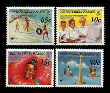 VIRGIN ISLANDS. UNICEFF 50th Anniversary. 1996 Scott 838-841. MNH (BI#1)