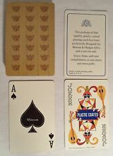 Vintage Playing Card Deck Benson & Hedges Cigarette Promotional Whitman Complete
