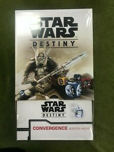 Star Wars Destiny Convergence Expansion Booster Box Sealed 36 Pack Display