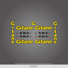 0697 Gitane R.M.O Bicycle Stickers - Decals - Transfers - Yellow/Black
