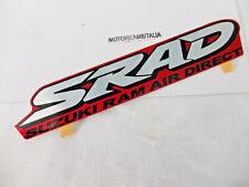 Suzuki moto GSX R 600 68131-33E30-K4F adesivo carena codino fairing sticker SRAD