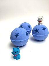 BOMBA da bagno con un giocattolo, naturale prodotti da bagno, fatto a mano, idea regalo