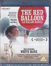 The Red Balloon (Le Ballon Rouge) White Mane New & Sealed UK Region Free Blu-ray