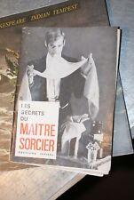 Les secrets du maître sorcier capiepa magie prestidigitation