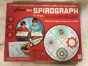 Vintage Kenner's No. 401 Spirograph Set (1967)