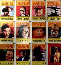 Walt Disney™ DICK TRACY Rogue Series RARE VINTAGE Trading Cards FULL SET
