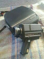 Vintage Super 8 Camera Camcorder. Chinon 45 Auto Zoom.With Original Carry Case.