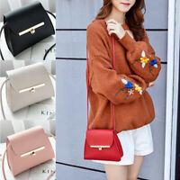 Women Girl Tote Messenger Bags Lady PU Handbag Cross Body Bag Shoulder Bag Purse
