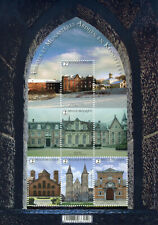 Belgium Architecture Stamps 2020 MNH Abbeys & Monasteries Buildings 5v M/S