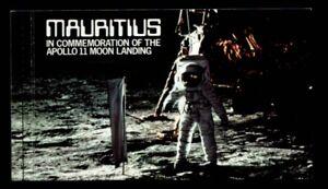 MAURITIUS Tenth Anniversary Apollo 11 Moon Landing MNH booklet