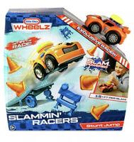 New Little Tikes Wheelz Slammin' Racers Car Stunt Jump Playset