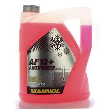 5 LITRE MANNOL ANTIFREEZE ANTI-FREEZE AF 12+ ANTIFREEZE -40°C RED PINK