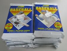 LOT OF (14) Packs of 1992 SCORE Series 1 BASERBALL CARDS