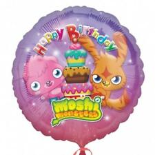 "Moshi Monsters Happy Birthday Anagram Round Foil Balloon 18"" XL Xtra Life"