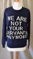 Each x Other Robert Montgomery Cotton/Cashmere Black Sweater Size XS