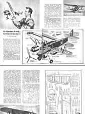 MODELLISMO AEREO La Scienza Illustrata 1950 Aeromodello VVC Curtiss P6E DVD