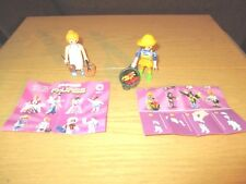 Playmobil - 2 Figuren Serie 10 Girls