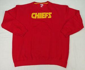 Kansas City Chiefs NFL Team Apparel Crew Neck Sweatshirt