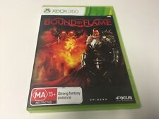 XBOX 360 GAME BOUND BY FLAME
