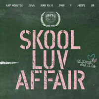BTS Bangta Boys SKOOL LUV AFFAIR 2nd Mini Album CD+Photobook+Photocard, Sealed