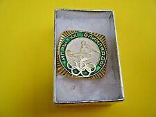 Olympic Pin 1976 '76 Montreal Olympiad XXI Soccer Football Futbol NEW IN BOX