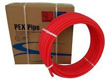 Pex Tubing 1/2 by 1000 Feet Oxygen Barrier O2 EVOH Pex-B Red Radiant Floor Heat