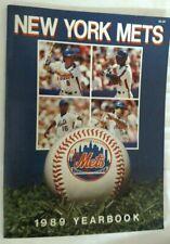 Vintage Baseball 1989 Official Team Yearbook NEW YORK METS Keith Hernandez