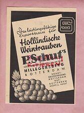 Hillegersberg, Pubblicità 1937, uve olandese P. razionalmente's distribuzione all'ingrosso