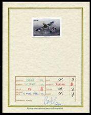NEVIS 1986 SPITFIRE AIRCRAFT PROGRESSIVE PROOF WW2 1986 $4