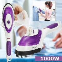 Handheld Steam Iron Clothes Laundry Garment Brush Steamer Travel Home 1000W