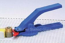 Stained Glass Supplies Nick's Grinder Mate Tongs - Save fingers at the grinder!
