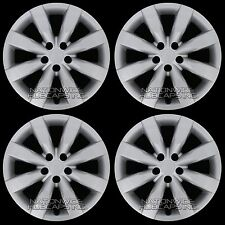"4 New 2009-2016 Toyota Corolla 16"" Hub Caps Full Set Wheel Covers fit Steel Rims"