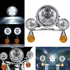 Motorcycle LED Headlight Indicators Blinkers Turn Signal Passing Lights Lamps