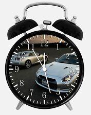"Nissan GTR Alarm Desk Clock 3.75"" Home or Office Decor X49 Nice For Gift"