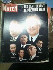 Paris Match n° 1047 31 mai 1969 campagne pompidou poher salon aéronautique